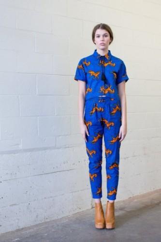 tonto shirt, sundance kid pants