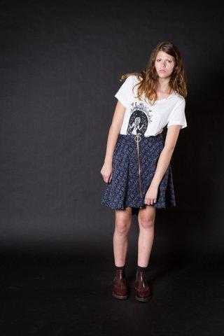 Lady White Snake Tee & Magic Skirt