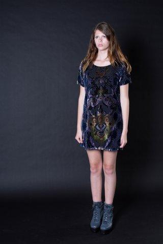 Ming Velvet Dress