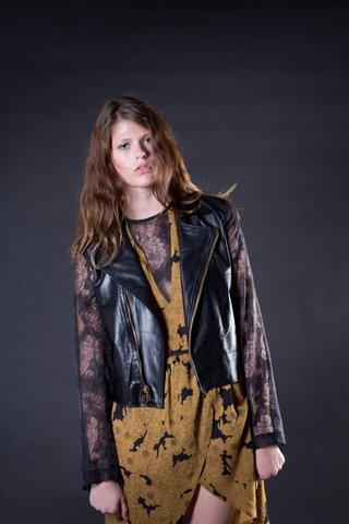 Lady Leather Jacket
